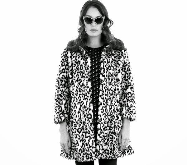 Abrigo leopardo Minueto