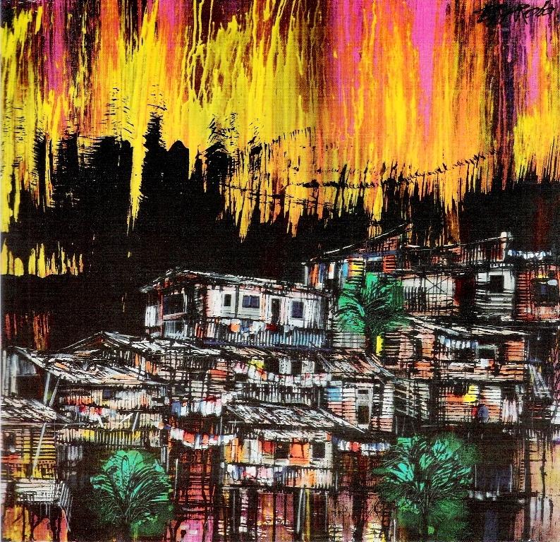 Pinturas cuadros lienzos arte abstracto en acrilico - Acrilico sobre lienzo ...
