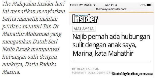 Hubungan Sulit Najib [2]