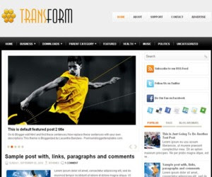 Transform Blogger Template