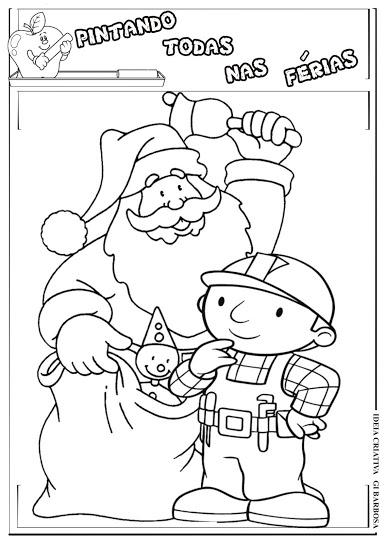 Pintando Todas nas Férias/ Bob o Construtor Natal