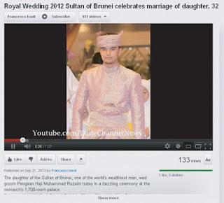 isterinya, Permaisuri Pengiran Anak Saleha. Anakanda Sultan Brunei