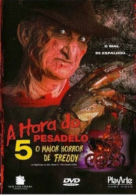 Capa - A Hora do Pesadelo 5 : O Maior Horror de Freddy