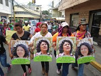 (Fotos) Honduras: Este 8 de marzo todas somos Bertha