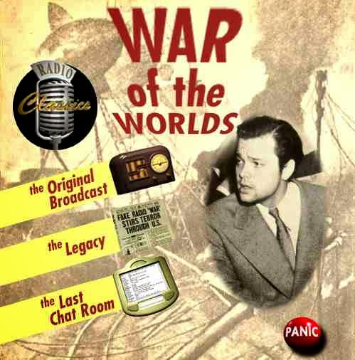 nuncalosabre.La Guerra de los Mundos - Orson Wells
