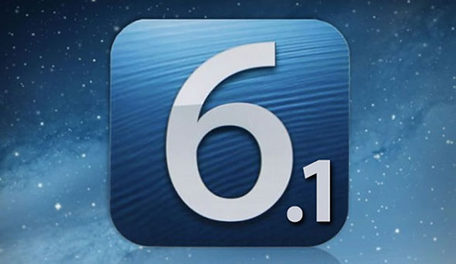 iOS 6.1 could be released in next year?