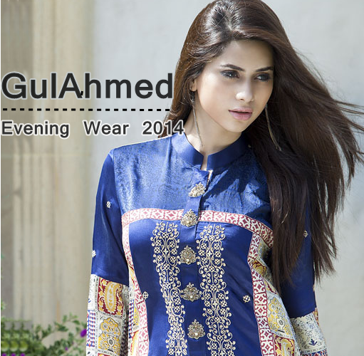 GulAhmed Evening Wear 2014