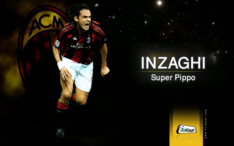 AC Milan Legend Filippo Inzaghi A C Milan Wallpapers