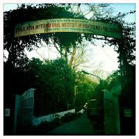ashram main gate
