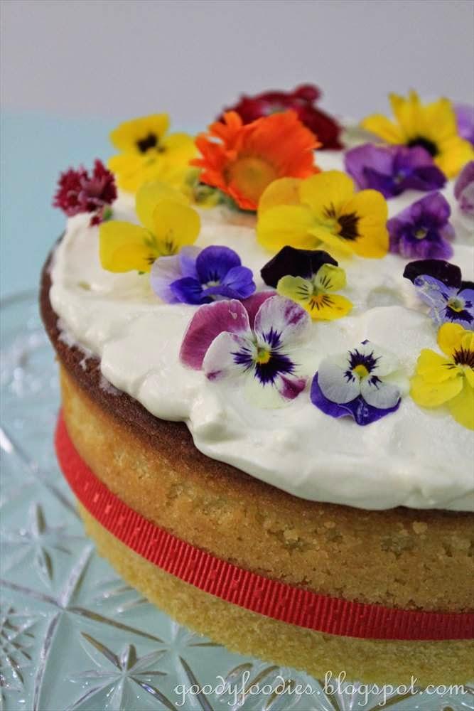 Image Result For Easy Cake Flowers