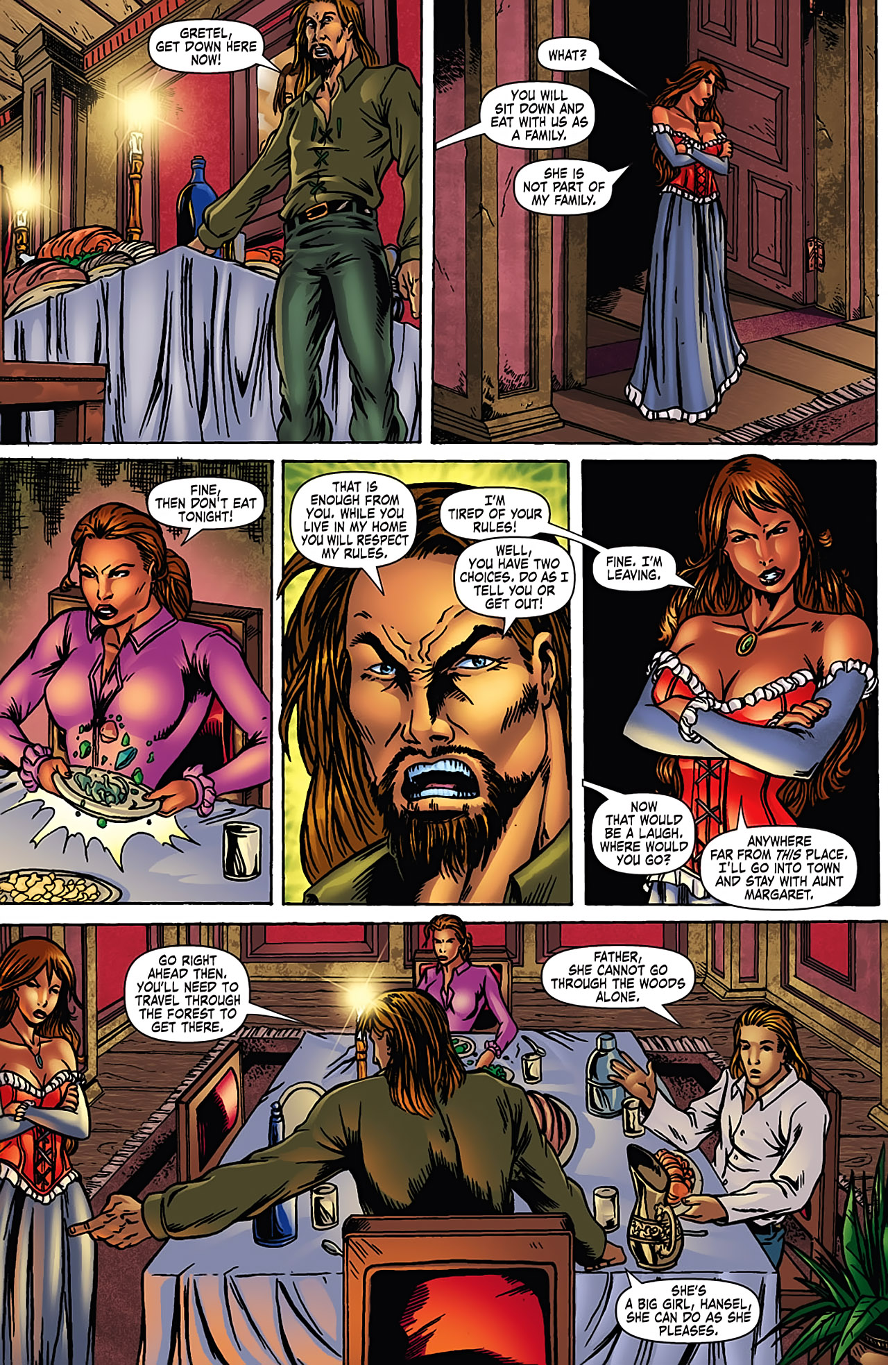 Grimm Fairy Tales (2005) Issue #3 #6 - English 8