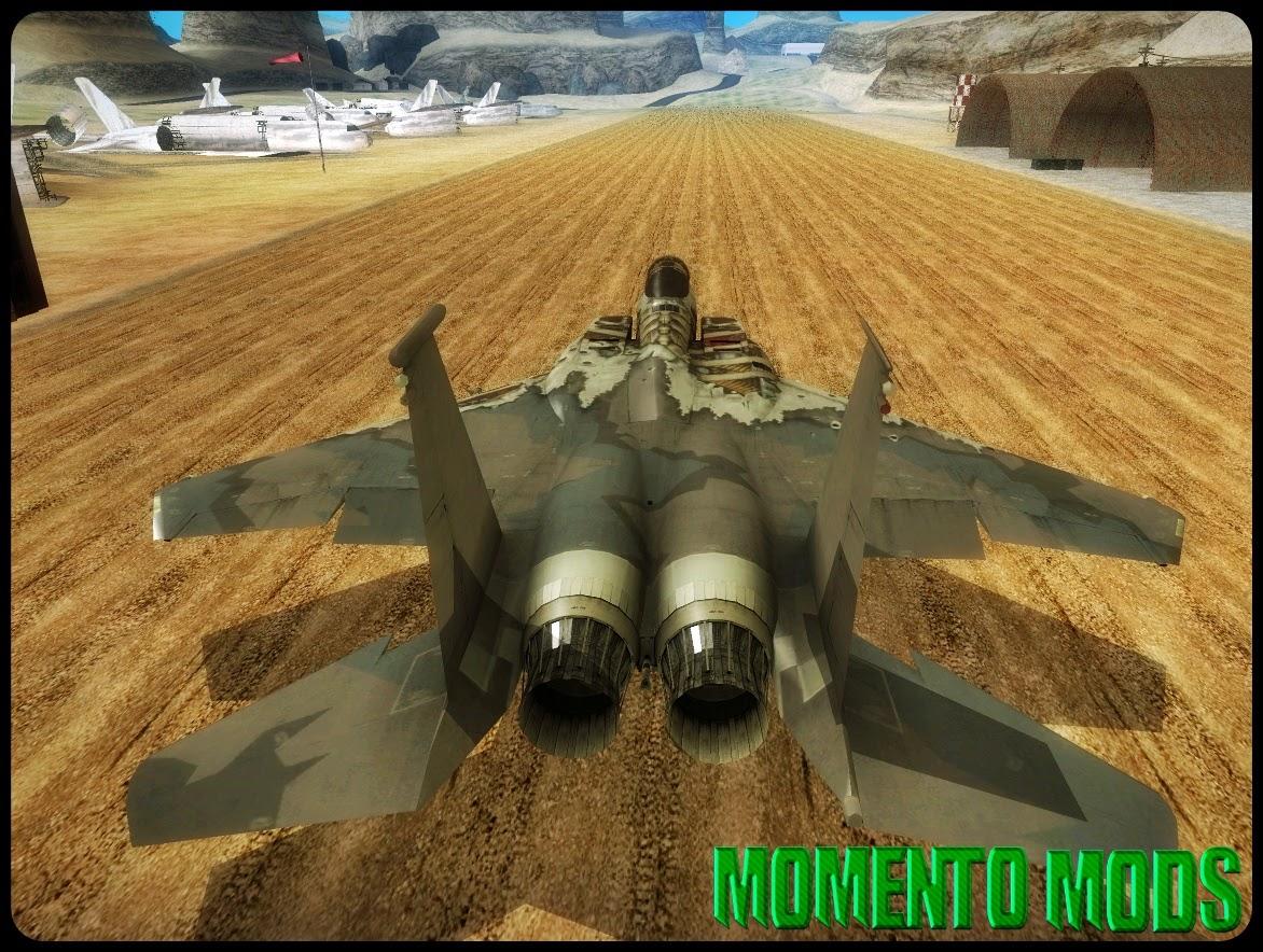 GTA SA - F-15C Eagle