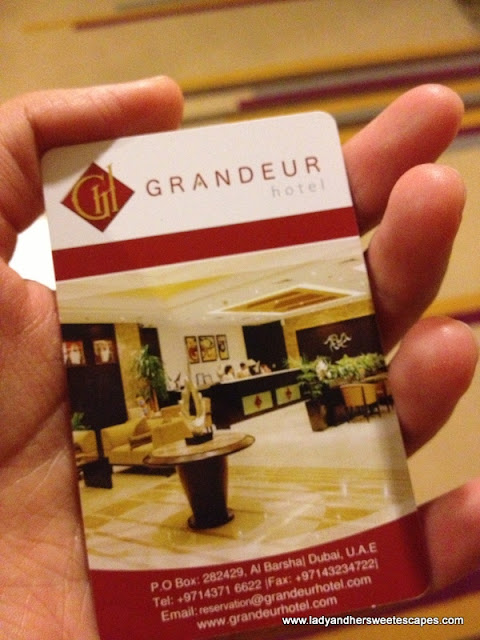 Grandeur Hotel Key Card
