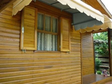 Casa de madeira madeira haus osmocolor for Haus in madeira