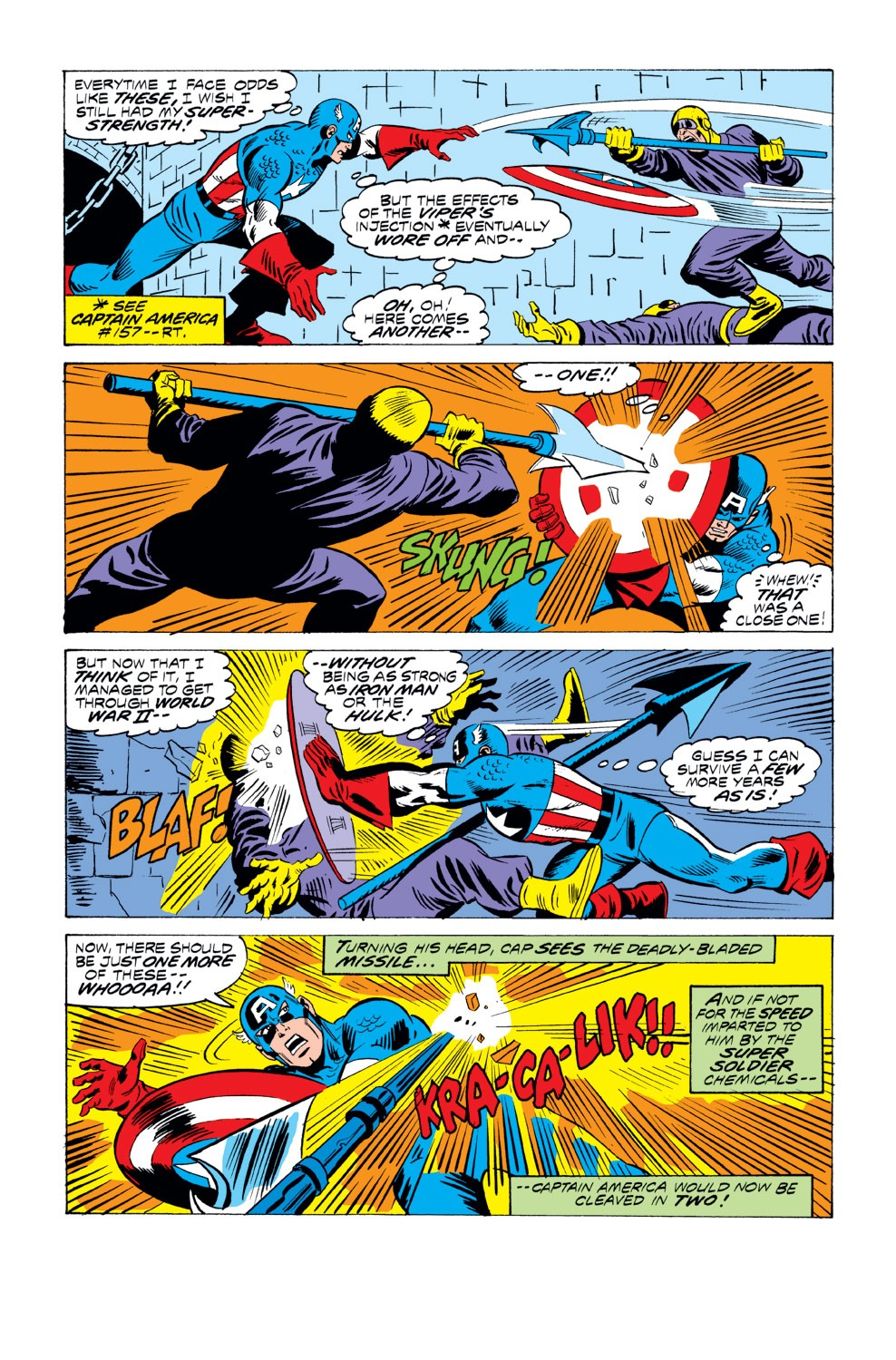 Captain America (1968) Issue #218 #132 - English 15