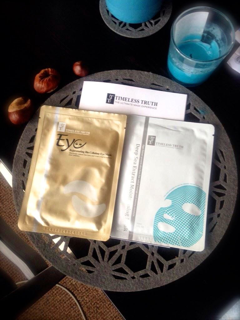 Timeless Truth Eye Rejuvenating Mask & Deep Sea Extract Moisturising Mask Review*