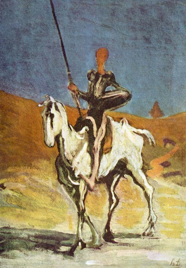Imagen Don Quijote Daumier