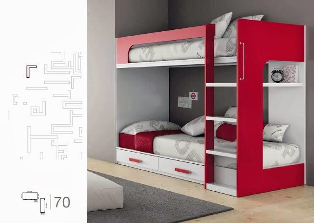 Blog dormitorios juveniles valencia qu es una litera for Literas juveniles modernas