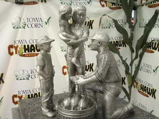 New Cy-Hawk Trophy gets deep-sixed.