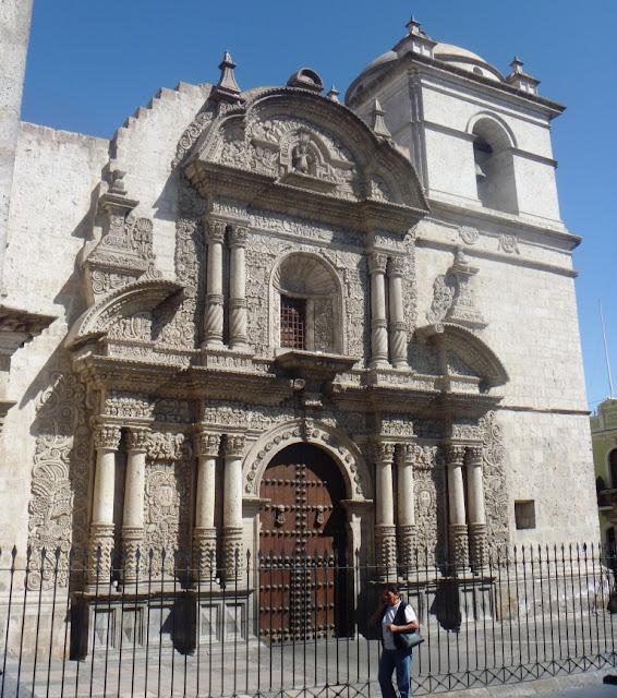 arte colonial arquitectura religiosa en arequipa