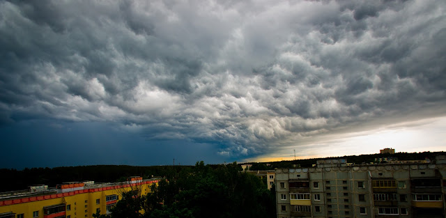 Storm is coming…..