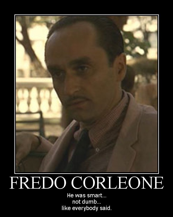 Michael Corleone Quotes To Fredo Michael And Fredo Corl...