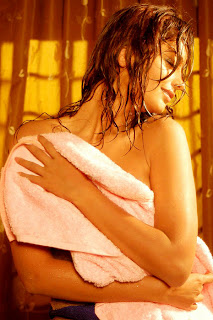 Kaaveri Jha wet photos in Towel