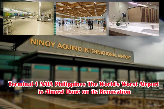 Terminal-1 NAIA Philippines The World's Worst Airport is Almost Done on its Renovation
