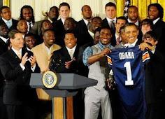 Obama says War Eagle