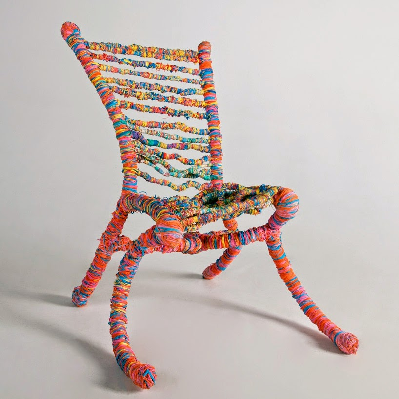 The Art Of Up-Cycling: Upcycled Chairs