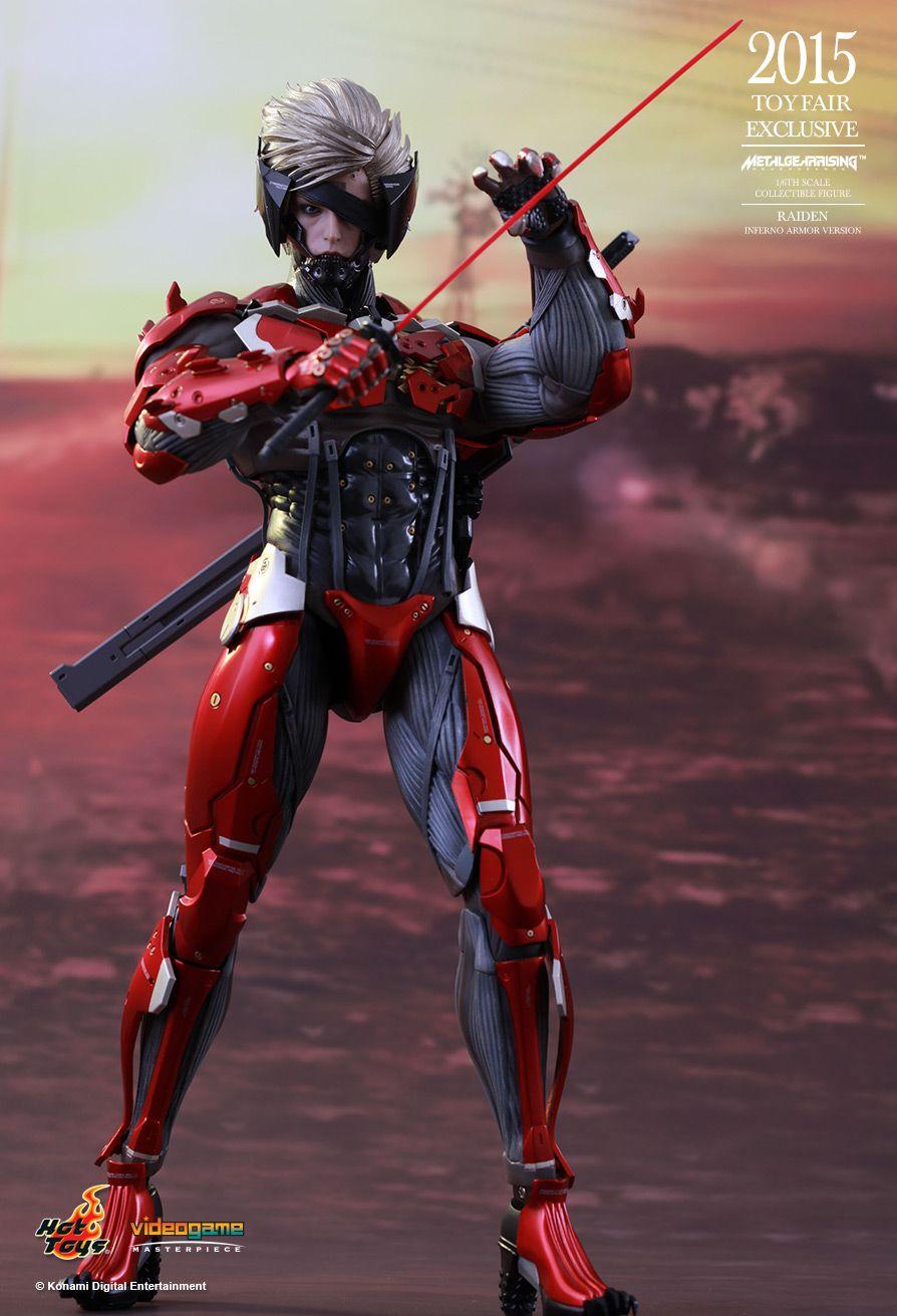 Osr Metal Gear Rising Revengeance Raiden Inferno Armor