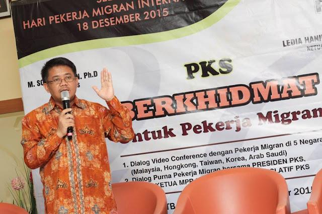 Presiden PKS : Kami Siap Perjuangkan Pekerja Migran