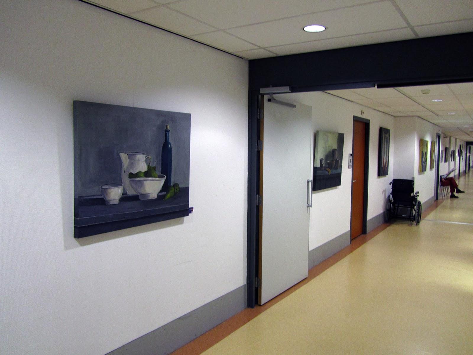 long corridor in nursing home