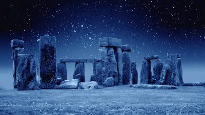 stonehenge, night sky, archeoastronomy, archeology, astronomy