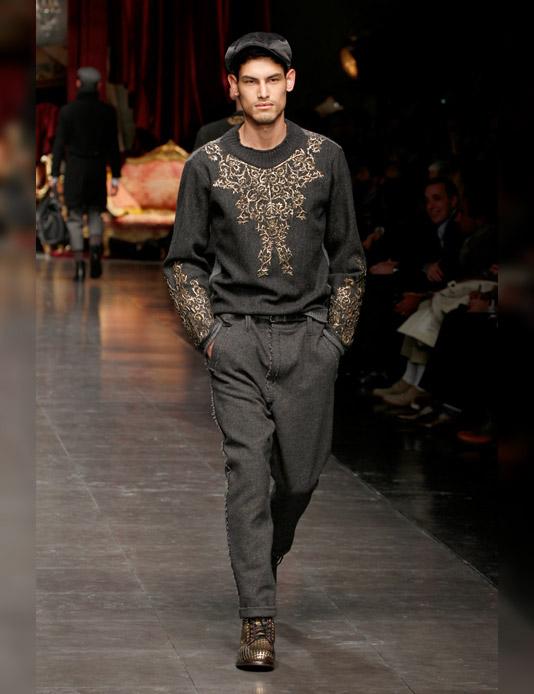 36d3144c5bb4 The Hallstand  Dolce   Gabbana s men wear laid-back chic
