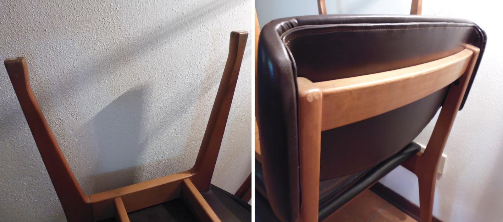 Rimodern set di 4 sedie firmate mim ico parisi roma for Sedie design roma