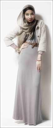 Model Baju Muslimah Trendy Terbaru Untuk Lebaran
