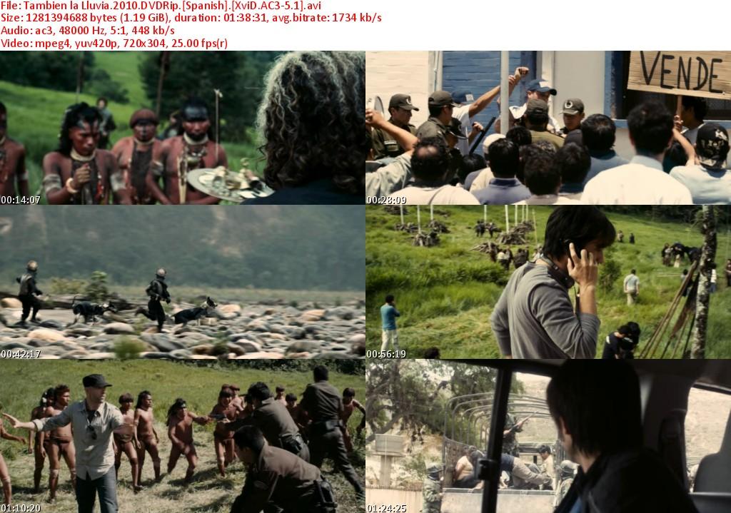 a movie analysis of tambien la lluvia A dvd review by glenn erickson (dvd savant) of the film even the rain ( también la lluvia.