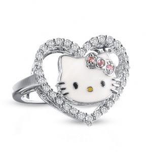 Wedding Lady The Addict Hello Kitty Wedding Rings So