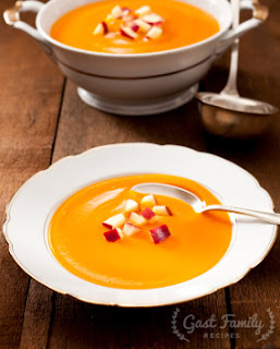 Curried Apple Butternut Squash Soup Recipe