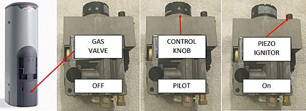Rheem stellar gas control valve