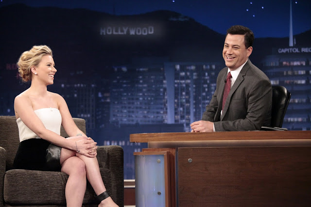 Actress, Singer, Model @ Scarlett Johansson - Jimmy Kimmel Live