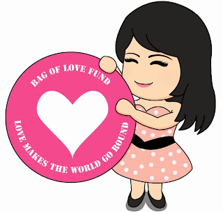 Bag of Love Gives Back, beauty bag, bag of love fund, charity, donation