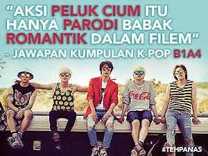 Thumbnail image for Isu Peluk Cium Kumpulan K-Pop : Itu Hanya Parodi Babak Romantik Drama Sahaja – B1A4