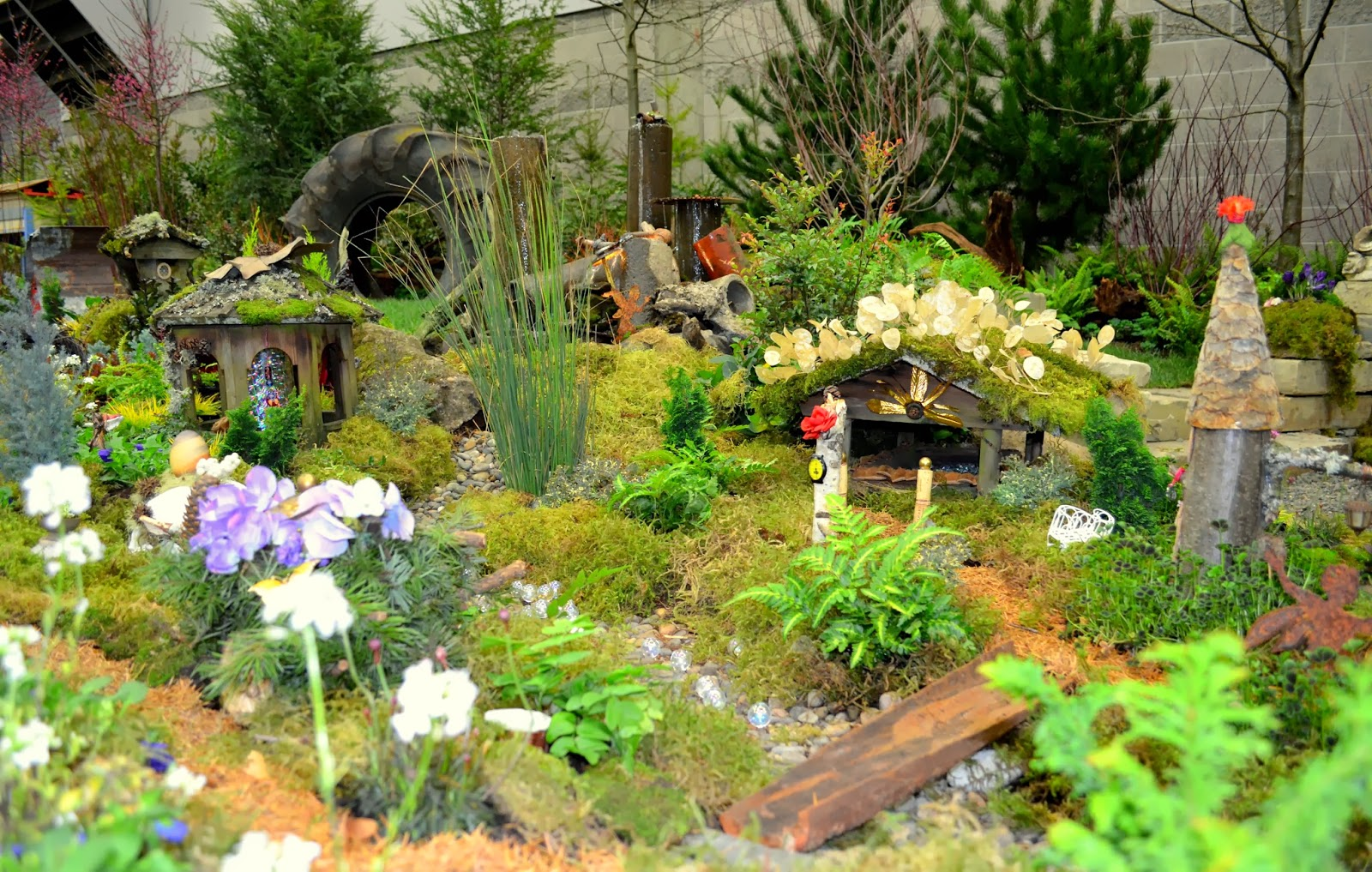 Scenes from the Portland Yard Garden & Patio Show 2014