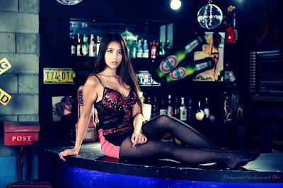Cha Jung Ah Sexy Clubbing Girl