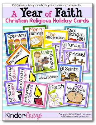 FREE Religious calendar cards