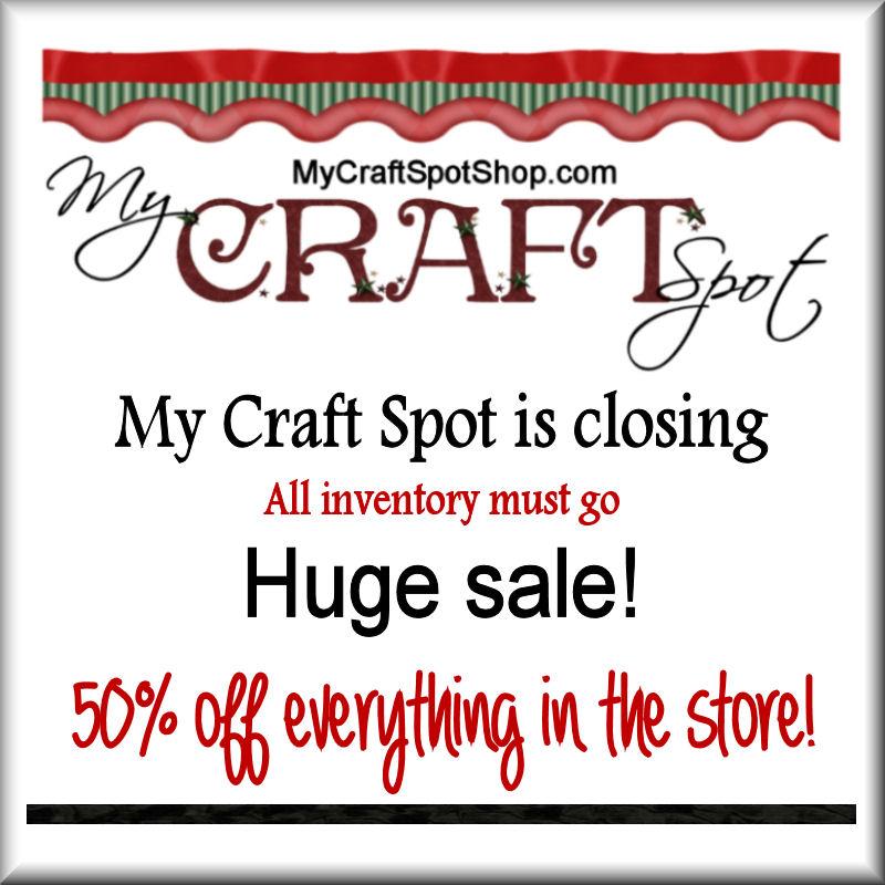 http://mycraftspotshop.com?code=MCS50Thanks