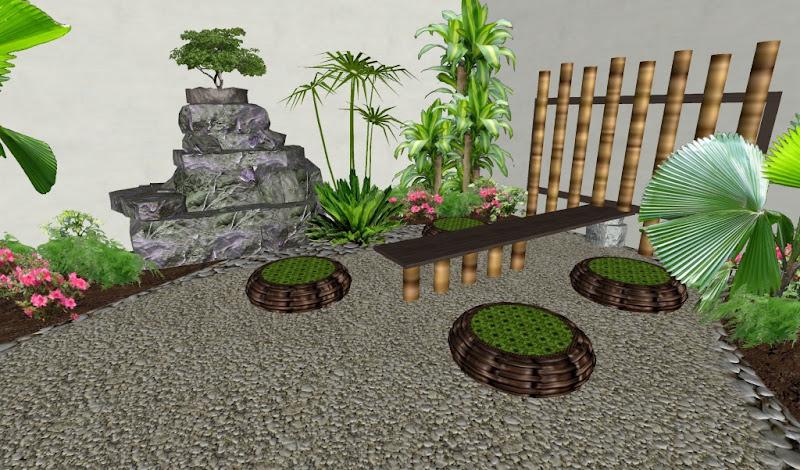 Arreglos Adornos y Decoraciones para Jardines Ideas Diseos 3D