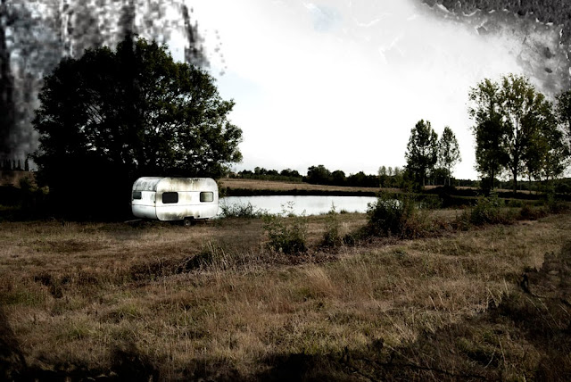Abandoned places-caravan-deserted